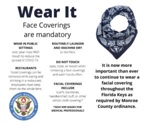 Face masks are mandatory in the Florida Keys